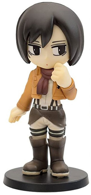 Attack on Titan Chobirume Mikasa 3'' PVC Figure