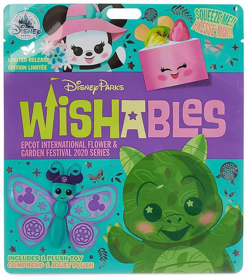 Disney Wishables Epcot International Flower & Garden Festival 2020 Exclusive 5-Inch Micro Plush Mystery Pack [1 RANDOM Figure]