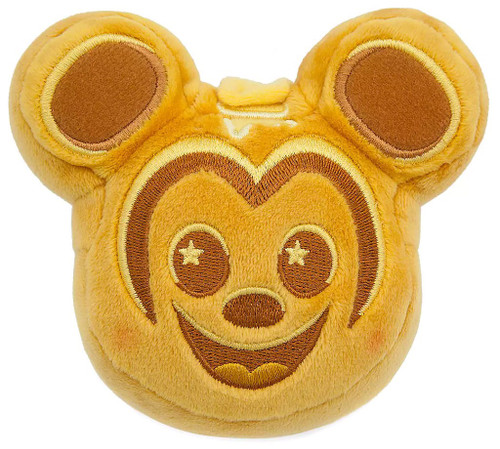 Disney Wishables Parks Food Series 2 Mickey Waffle Exclusive 5-Inch Micro Plush