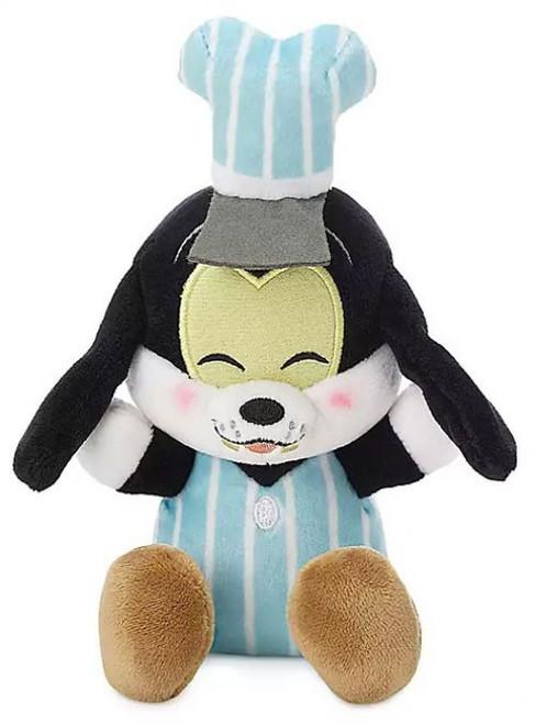 Disney Wishables Mickey & Minnie's Runaway Railway Engineer Goofy 5-Inch Micro Plush