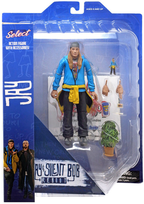 Jay & Silent Bob Reboot Jay Action Figures