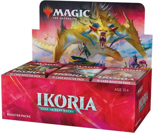 MtG Trading Card Game Ikoria: Lair of Behemoths Draft Booster Box [36 Packs, NO SPACEGODZILLA!]