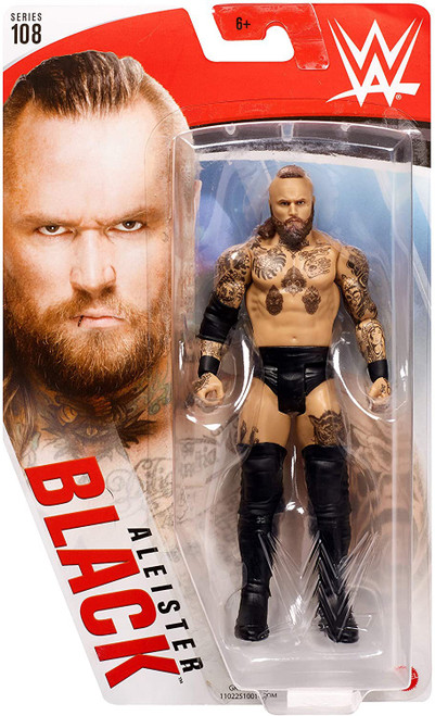 WWE Wrestling Series 108 Aleister Black Action Figure