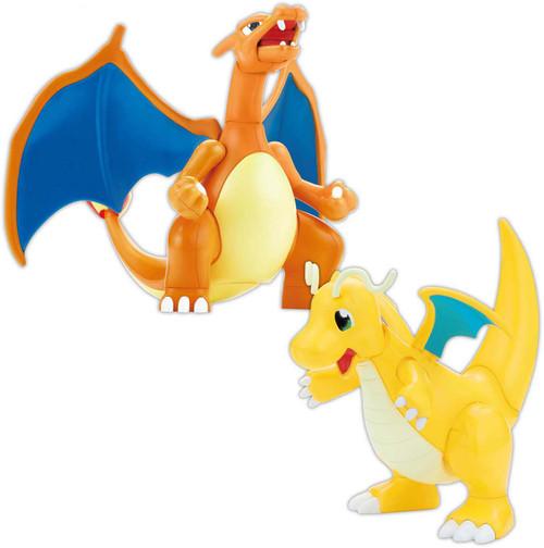 Pokemon Bandai Spirits Charizard & Dragonite 4.75-Inch Model Kit