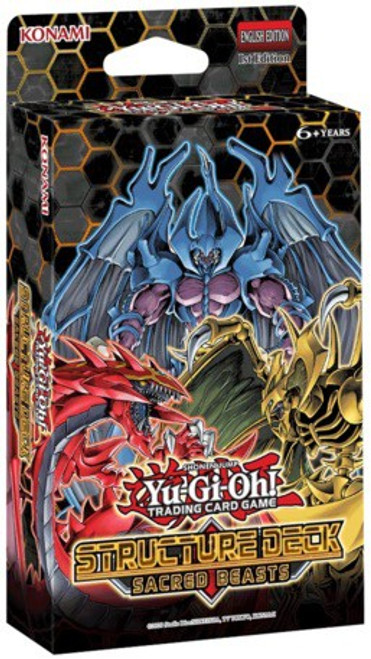 YuGiOh Trading Card Game Sacred Beasts Structure Deck