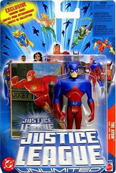 Justice League Unlimited The Atom Action Figure [Damaged Package]