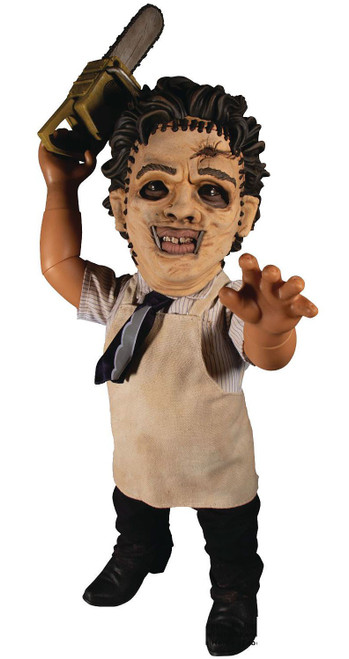 Texas Chainsaw Massacre Designer Series Leatherface Mega Scale TALKING Action Figure [1974]