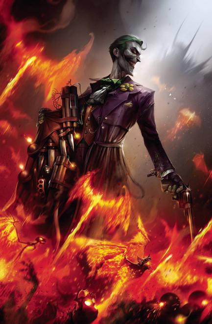 DC Batman #95 Joker War Comic Book [Francesco Mattina Card Stock Variant Cover]