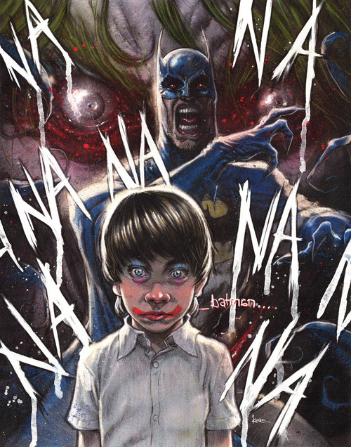 DC Black Label Batman #1 The Smile Killer Comic Book [Kaare Andrews Variant Cover]