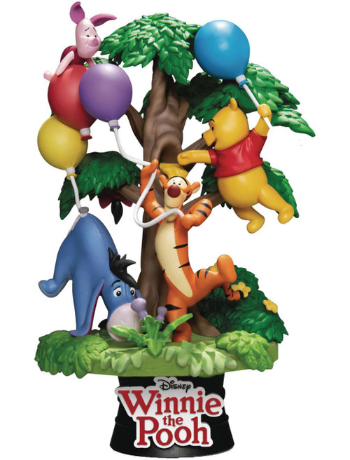 Disney D-Select Winnie the Pooh with Friends 6-Inch Diorama Statue DS-053