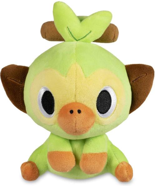 Pokemon Poke Doll Grookey Exclusive 6.5-Inch Plush