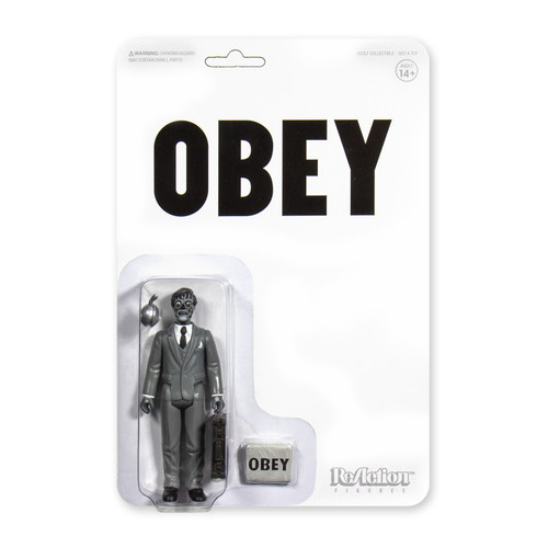ReAction They Live Male Ghoul Action Figure [Black & White]