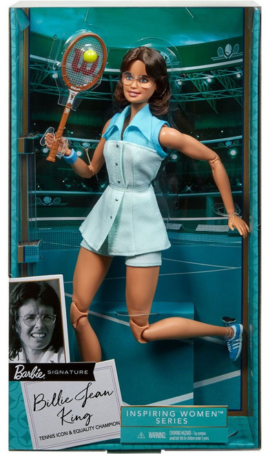 Barbie Signature Inspiring Women Series Billie Jean King 12-Inch Doll