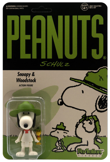 ReAction Peanuts Beagle Scout Snoopy Action Figure