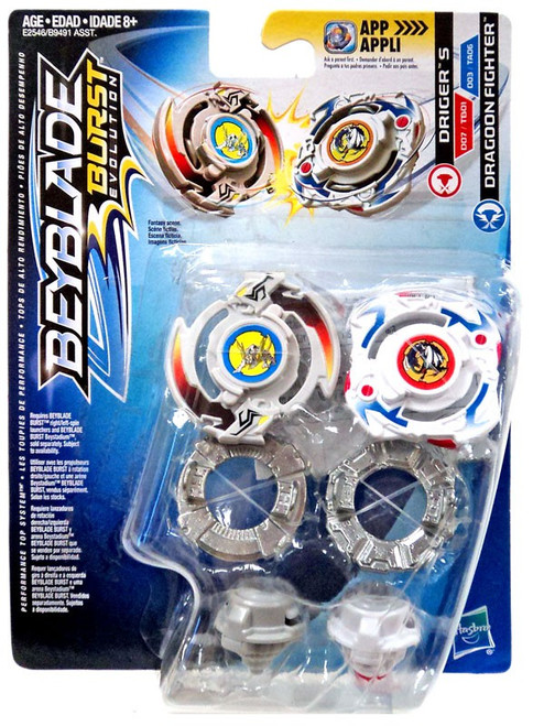 Beyblade Burst Driger S & Dragoon F Dual Pack [Damaged Package]