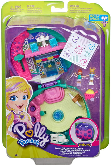 Polly Pocket Micro Lil' Ladybug Garden Playset