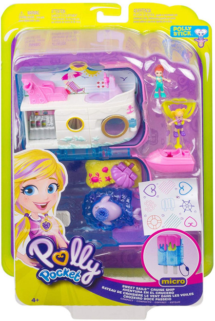 Polly Pocket Micro Sweet Sails Playset