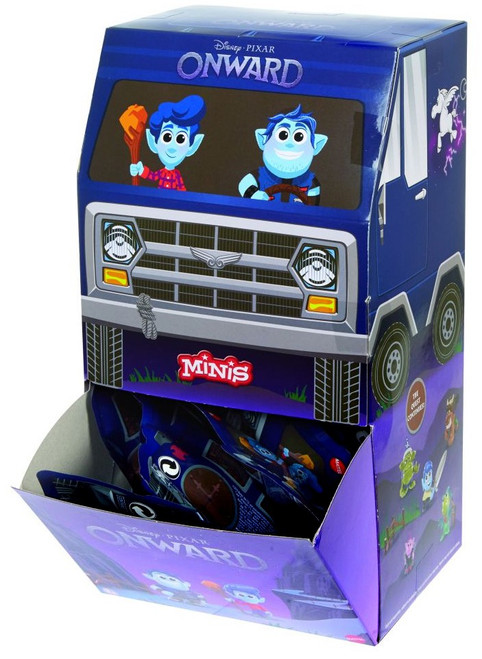 Disney / Pixar Minis Onward Mystery Box [36 Packs]