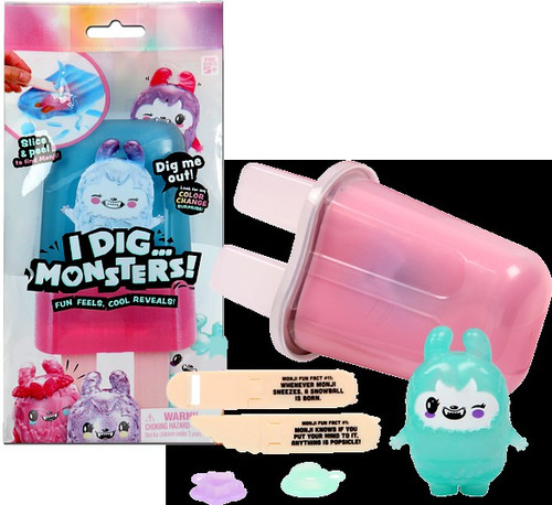I Dig Monsters Color Change Monji Mystery Popsicle Pack [1 RANDOM Figure!]