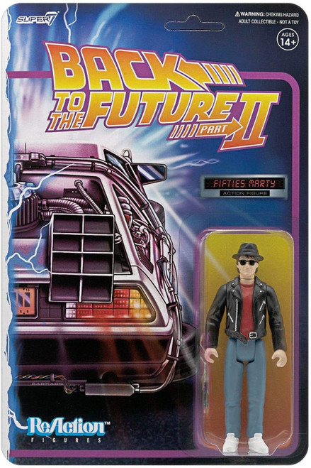 ReAction Back to the Future 2 Marty McFly 1950's Action Figure