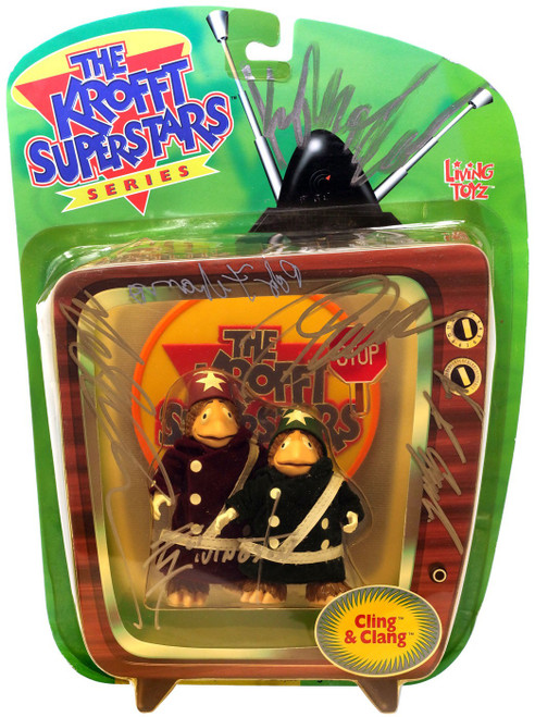 The Krofft Superstars Cling & Clang Action Figure [Unknown Autographs, Version 1]