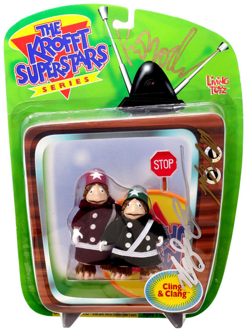 The Krofft Superstars Cling & Clang Action Figure [Unknown Autographs, Version 2]