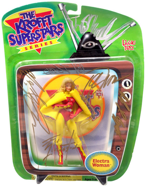 The Krofft Superstars Electra Woman Action Figure [Unknown Autographs, Version 1]