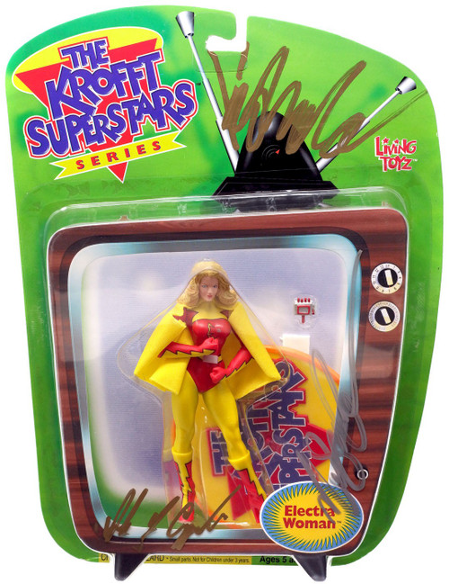The Krofft Superstars Electra Woman Action Figure [Unknown Autographs, Version 2]