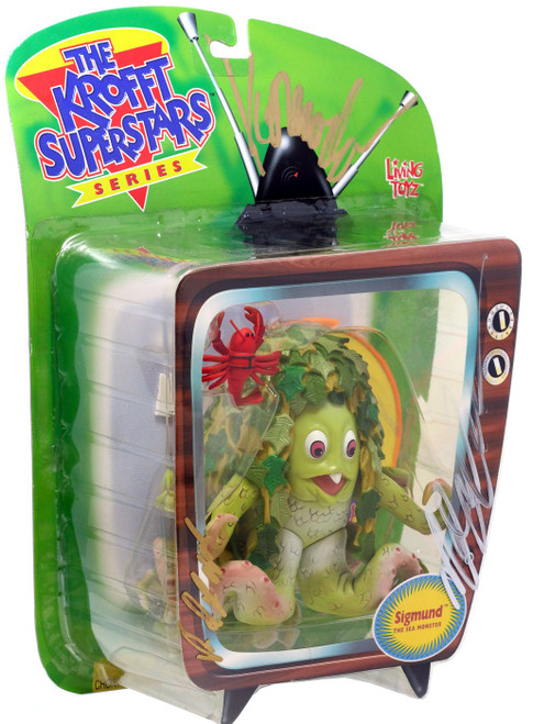 The Krofft Superstars Sigmund the Seamonster Action Figure [Unknown Autographs, Version 1]