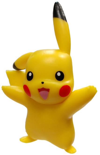 Pokemon Pikachu 2-Inch Mini Figure [Standing Loose]