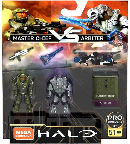 Halo Heroes Series 5 Master Chief vs. Arbiter Mini Figure