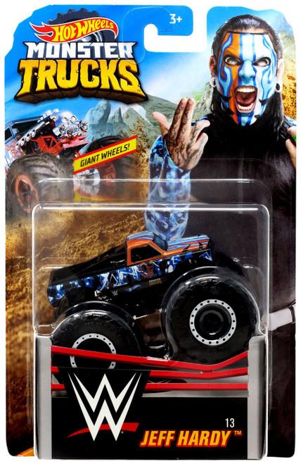 Hot Wheels Monster Trucks WWE Jeff Hardy Diecast Car