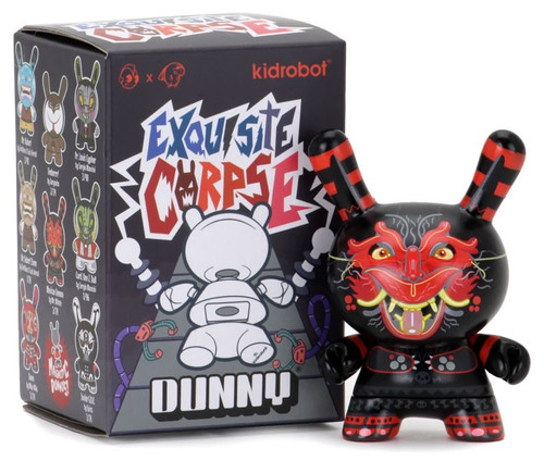 Dunny Exquisite Corpse 3-Inch Mystery Pack [1 RANDOM Figure]