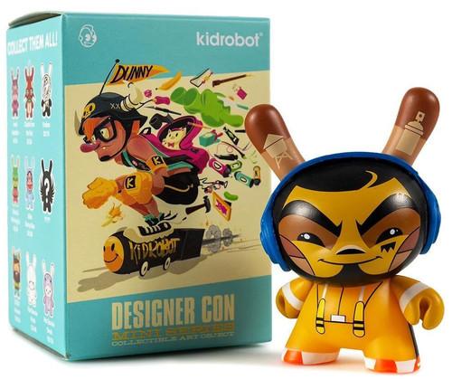Dunny Collectible Art Mini Series Designer Con 3-Inch Mystery Pack [1 RANDOM Figure]