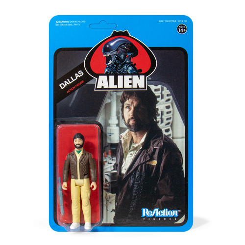 ReAction Aliens Dallas Action Figure [Blue Card]