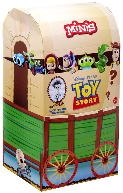 Disney / Pixar Toy Story MINIS Andy's Toy Chest Mystery Box [36 Packs]
