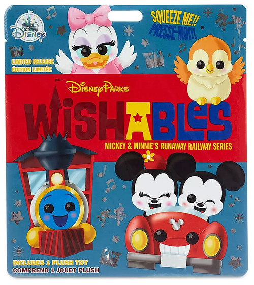 Disney Wishables Mickey & Minnie's Runaway Railway Exclusive 5-Inch Micro Plush Mystery Pack