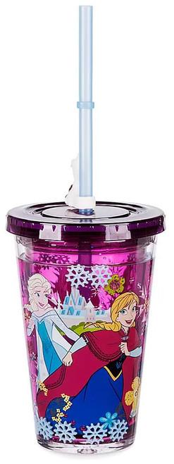 Disney Frozen 2 Anna & Elsa Exclusive Tumbler with Straw