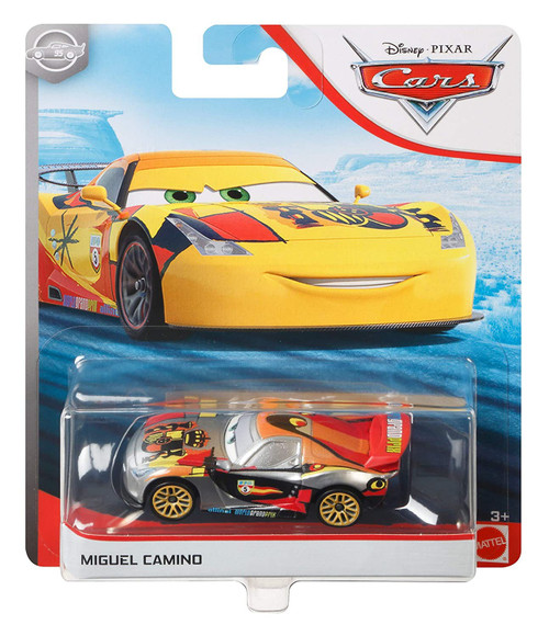 Disney / Pixar Cars Cars 3 Silver Collection Miguel Camino Diecast Car
