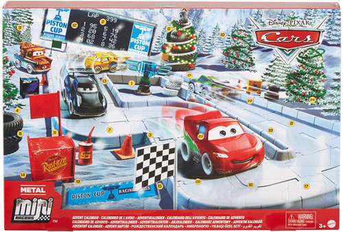 Disney / Pixar Cars Die Cast Metal Mini Racers 2020 Advent Calendar Set
