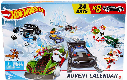 Hot Wheels 2020 Holiday Hot Rods Advent Calendar Set