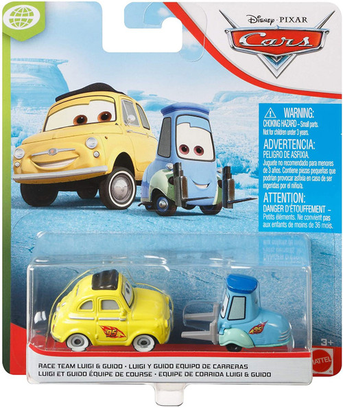 Disney / Pixar Cars Cars 3 WGP Race Team Luigi & Guido Diecast Car