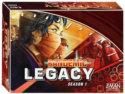 Pandemic: Legacy Season 1 Board Game [Red Edition]