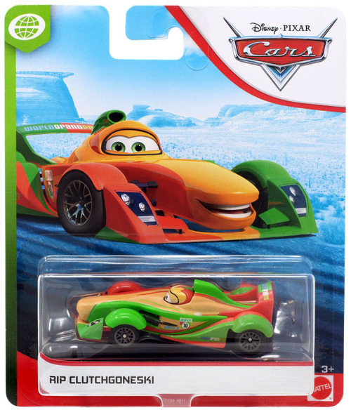 Disney / Pixar Cars Cars 3 WGP RIP Clutchgoneski Diecast Car [Version 2]