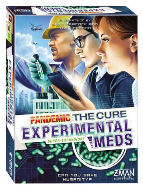 Pandemic: The Cure-Experimental Meds Board Game Expansion