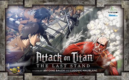 Attack on Titan: The Last Stand Board Game