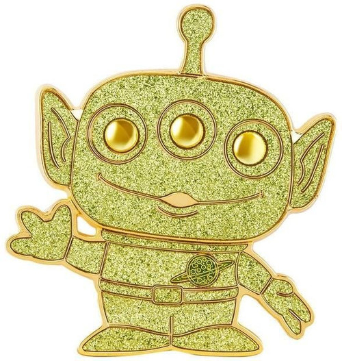 Funko Disney / Pixar POP! Pins Alien Large Enamel Pin [Chase Version, Glitter]