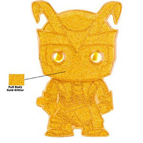 Funko Marvel POP! Pins Loki Large Enamel Pin [Chase Version, Glitter]