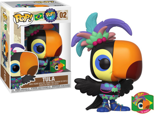 Funko POP! Around the World Tula with Pin Vinyl Figure #02 [Brazil]