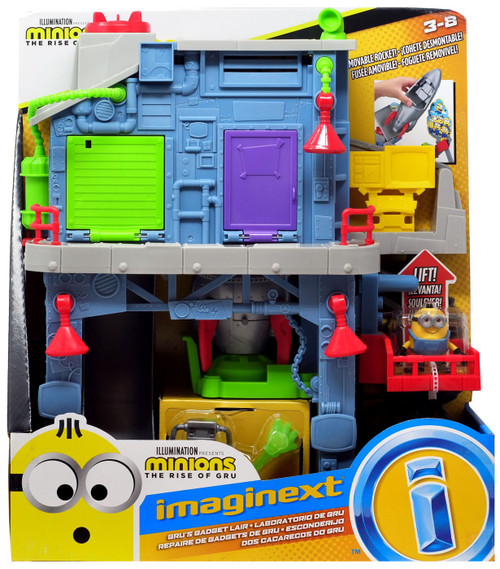 Fisher Price Despicable Me Minions: Rise of Gru Imaginext Gru's Gadget Lair Playset